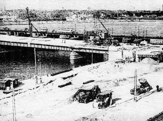Мост в 1930 х г земгальский мост в 1938 г