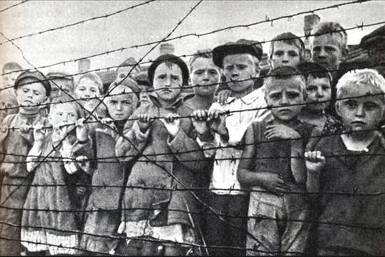 Salaspilī ieslodzītie bērni